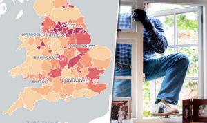 Burglary Stats in the UK
