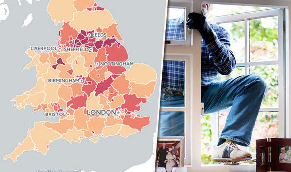 Burglary Stats in the UK