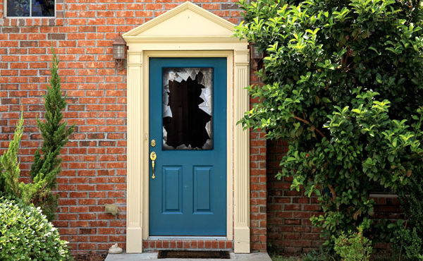 The Aftermath Of A Domestic Burglary In Cambridgeshire